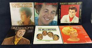 Vintage Voices LP Records Lot Of Six