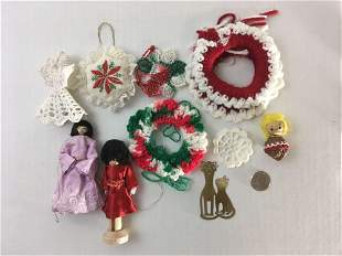 Vintage Christmas Ornament Lot #19