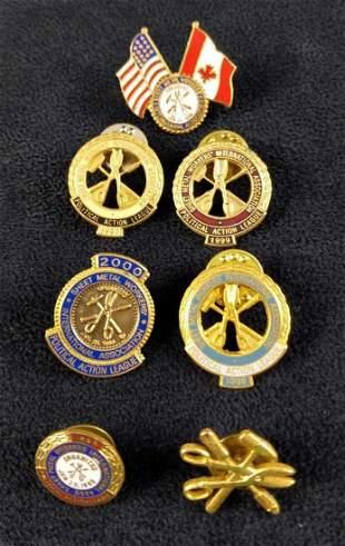 Sheet Metal Workers International Association Pins