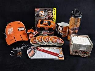 Tony Stewart Memorabilia Home Depot Lot of 14