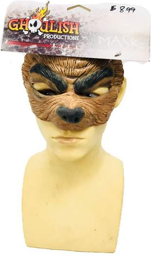 NOS - Ghoulish Productions - Wolf Mask - Halloween