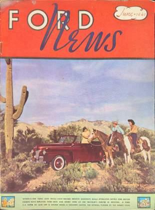 Ford News Magazine June 1941