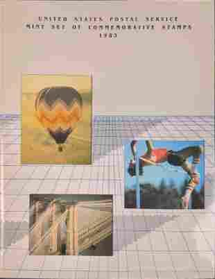 USPS Set Of Commemorative Stamps 1983 W Booklet