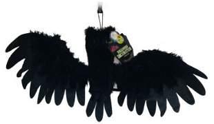 NOS - Screaming Fuzzy Bat - Halloween Decor