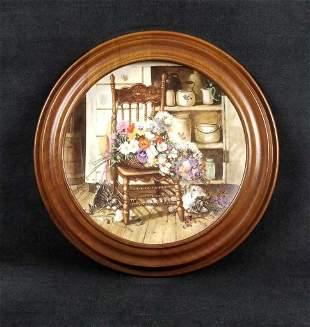 Grandma Garden Series By Glenna Kurz Plate
