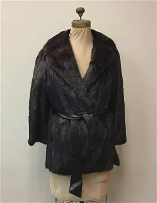 Mahogany Mink Jacket Robinson Vintage Fashion