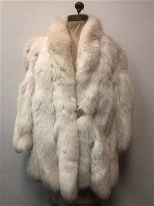 Fur Coat White Fox Sterling