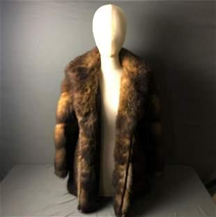 Authentic Vintage Custom Made By Mano Swartz Mink Fur
