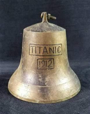 Brass Bell Titanic 1912