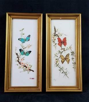 Hand Painted Butterflies Spain