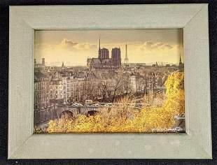 Framed Francisco Hidalgo Photo Print Notre Dame Paris