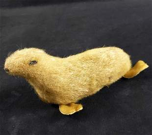 Vintage Inuit Eskimo Indian Fur Seal Doll Artic