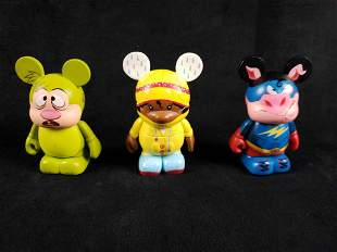 3 Vinyl Collectible Dunny Figurines B