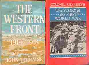 Two Vintage Hardcover World War I Books