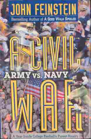 A Civil War: Army vs. Navy John Feinstein Hardcover