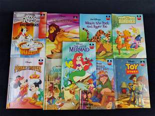 Disneys Wonderful World Of Reading Books Lot Of 9