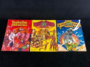 Vintage Ringling Brothers Barnum & Bailey Circus 1995 -