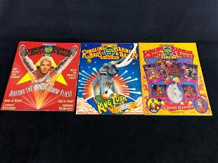 Vintage Ringling Brothers Barnum & Bailey Circus 1985 -