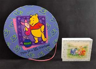 Disney Winnie The Pooh Hat Box Notecard Envelopes