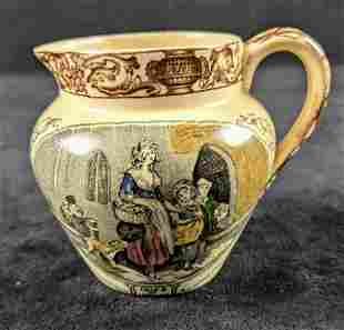 Vintage Adams Fine China Creamer Cries Of London