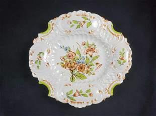 Bassano Vintage Italian Ceramic Serving Platter