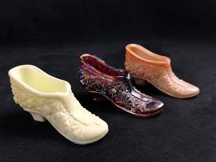 Art Glass Miniature Glass Shoe Joe St. Clair