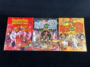 Vintage Ringling Brothers Barnum & Bailey Circus