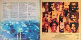 Two Weather Report LP Vinyl Records Jazz Fusion