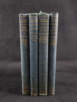 Lot of 4 Arden Shakespeare Harvard Press Books