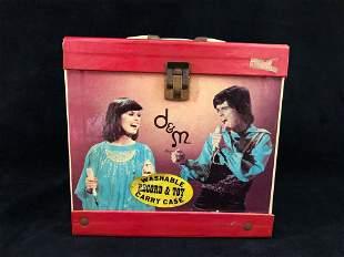 Vintage Donny & Marie Kids Record Holder & 20 Read