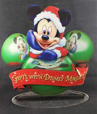 Original Disney Magic Sales Pop Christmas Mickey B