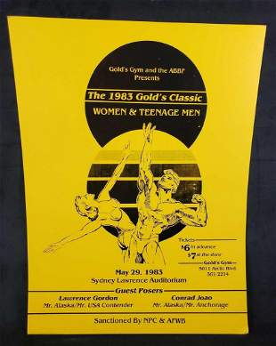 Golds Gym The 1983 Golds Classic Women and Teenage Men