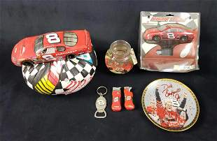 Lot of 7 Dale Earnhardt Jr Memorabilia Items