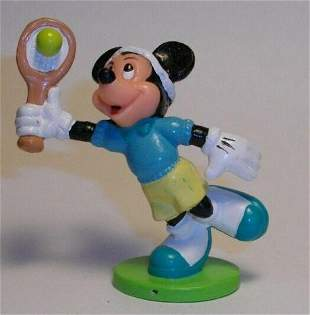 Disney Sealed Package Of PVC Tennis Mickey Mouse