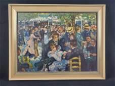 Le Moulin de la Galette Poster Print by Renoir
