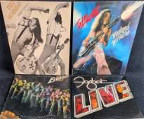 Rock LP Vinyl Records Elvin Bishop Ted Nugent Foghat