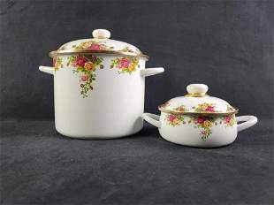Royal Albert Old Country Roses Casserole Metal Stock