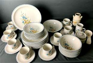 46 Pieces China Set: MIP2 Pattern By Ming Pao