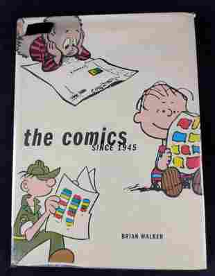 Hardcover The Comics By Brian Walker