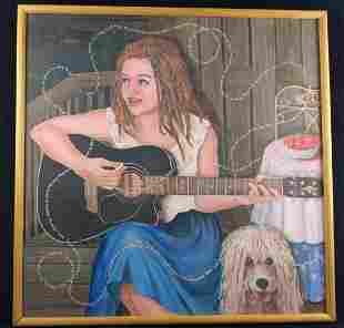 Catherine Pastis Radwanski Acrylic Original Painting