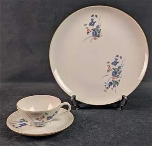 Kozan Gama Kiln Japanese Porcelain Dinnerware Lot Of 22