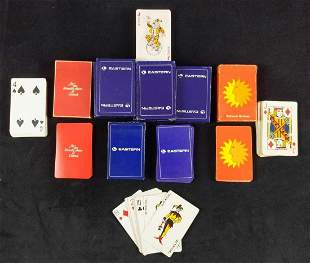 Vintage Airline Playing Cards Eastern National United