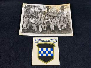 Vintage Original WWll Army 99th Infantry Picture &