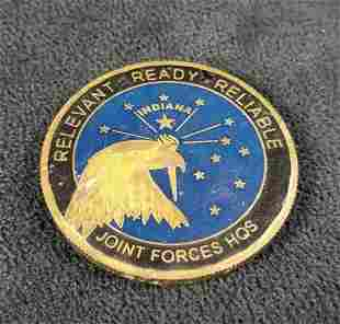 National Guard Indiana Challenge Coin