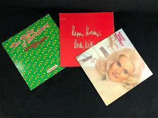 Vinyl Vintage Holiday Christmas Albums Lot Of 3