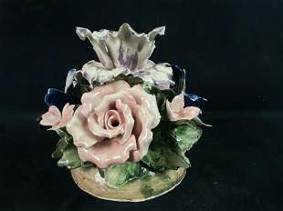 "Vintage Authentic Italy Capodimonte Glazed Porcelain 6"""
