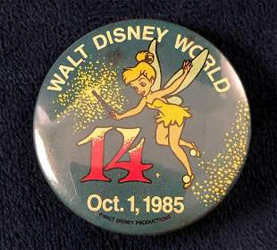 Lot of Vintage 22 Official 1983 Walt Disney World Happy