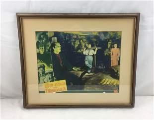 Original Abbot & Costello Film Lobby Window Card