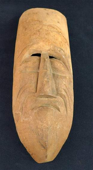 Replica Vintage African Style Tribal Mask Frowning