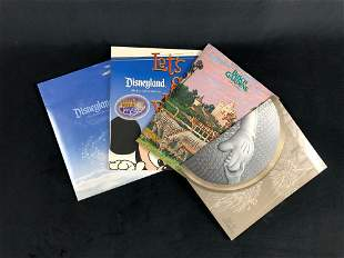 Lot Of 4 Walt Disney World Disneyland Media Park Press